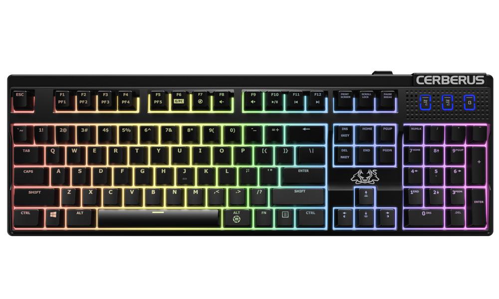 ASUS Cerberus Mechanical Gaming keyboard - Brown for  image