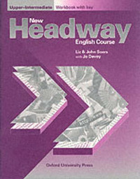 New Headway: Upper-Intermediate: Workbook (with Key) by John Soars image