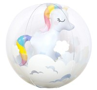 Sunnylife: 3D Inflatable Beach Ball - Unicorn image