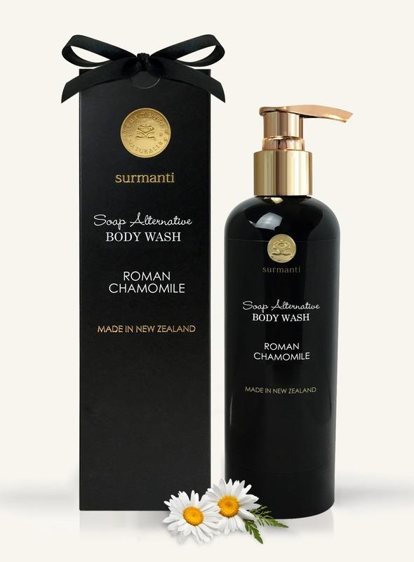 Surmanti Body Wash Soap Alternative - Roman Chamomile (300ml)