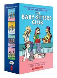 Babysitters Club Colour Graphix 1-4 Box Set by Ann,M Martin