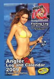 Angler IQ Fishing Log and Calendar 2009: Fishing Log with Moon Phases by Edward Ramos image