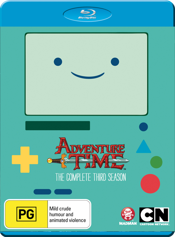 Adventure Time - The Complete Third Season on Blu-ray
