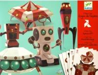 Djeco: Design - Spacecraft Papercraft
