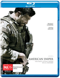 American Sniper on Blu-ray, UV