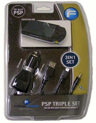 Futuretronics PSP Triple Pack for PSP image