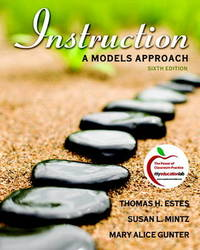 Instruction: A Models Approach by Thomas H. Estes image