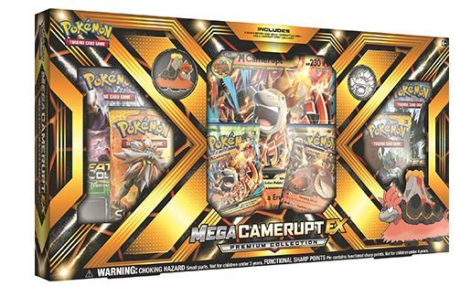 Pokemon TCG Mega Camerupt- EX Premium Collection