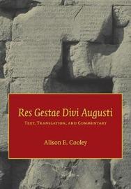 Res Gestae Divi Augusti by Augustus