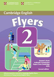 Cambridge Young Learners English Tests Flyers 2 Student's Book by Cambridge ESOL image