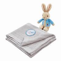 Peter Rabbit: Soft Toy & Blanket Set