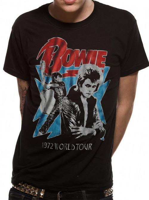 David Bowie 1972 World Tour Tee - Small