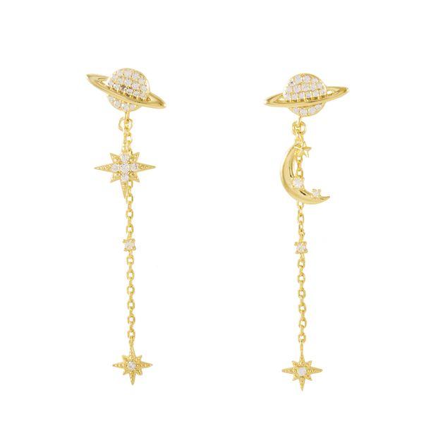 Wanderlust + Co: Daydreamer Gold Earrings