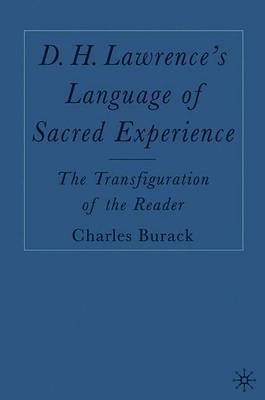 D. H. Lawrence's Language of Sacred Experience by Charles Burack image