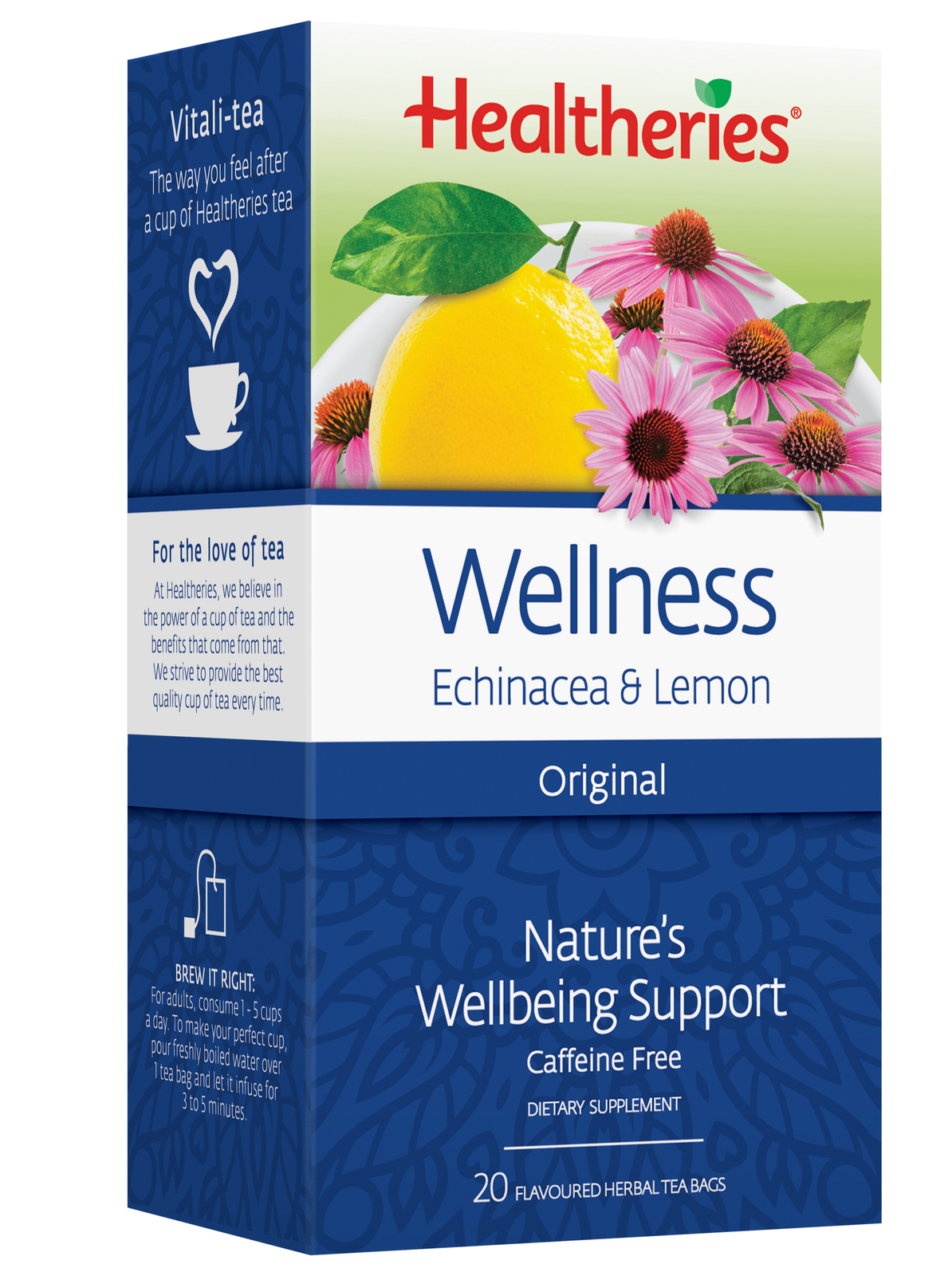 Healtheries Wellness Tea (Pack of 20) image