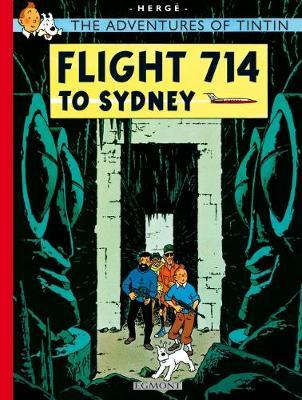 Tintin Flight 714 (The Adventures of Tintin #22) by Herge