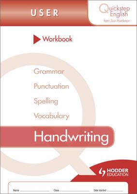 Quickstep English Workbook Handwriting User Stage by Sue Hackman image