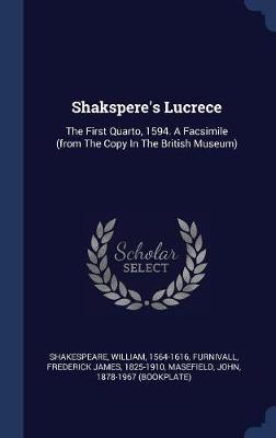 Shakspere's Lucrece by William Shakespeare