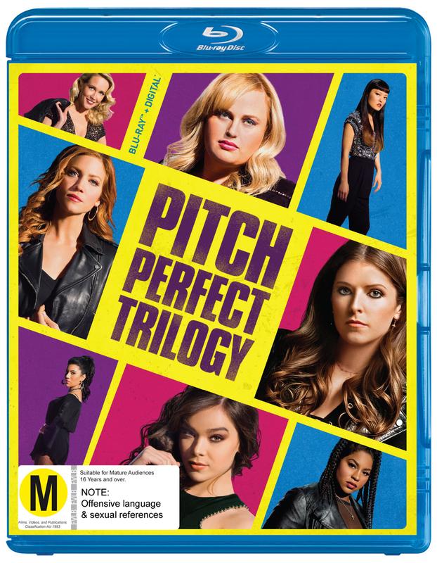 Pitch Perfect 1, 2 & 3 on Blu-ray