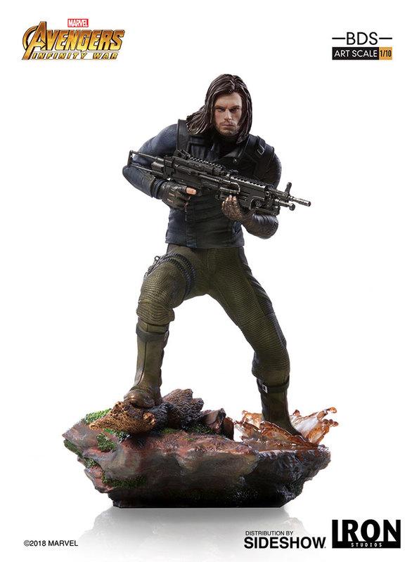 Avengers: Infinity War - 1/10 Winter Soldier - Battle Diorama Statue