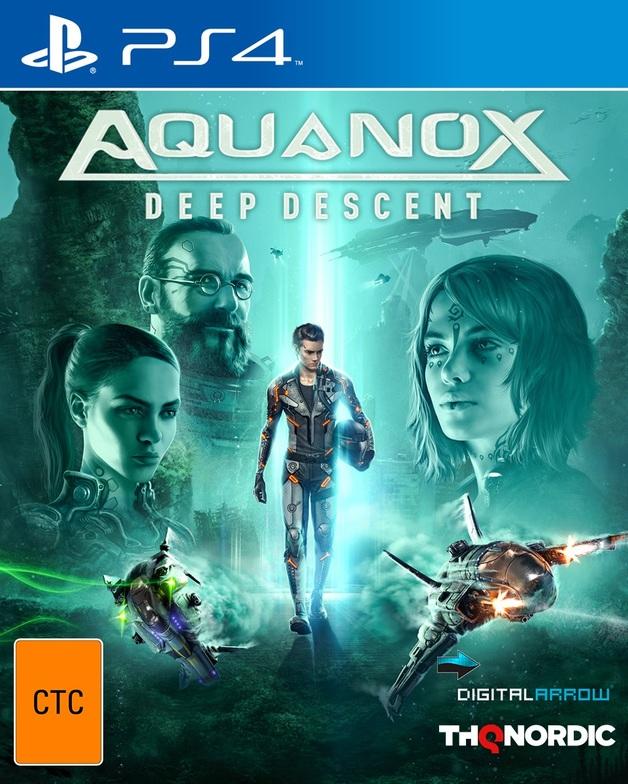 Aquanox Deep Descent for PS4