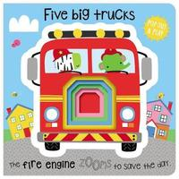 Pop-Out and Play Five Big Trucks by Make Believe Ideas, Ltd.
