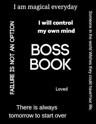 Boss Book by Robinette Williams