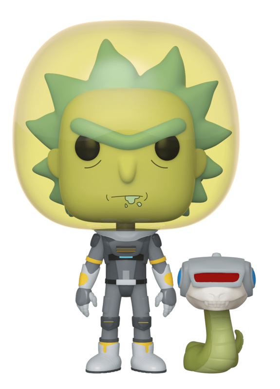 Rick & Morty: Space Suit Rick (with Snake) - Pop! Vinyl Figure