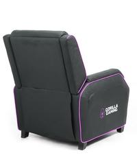 Gorilla Gaming Sofa - Black & Pink for