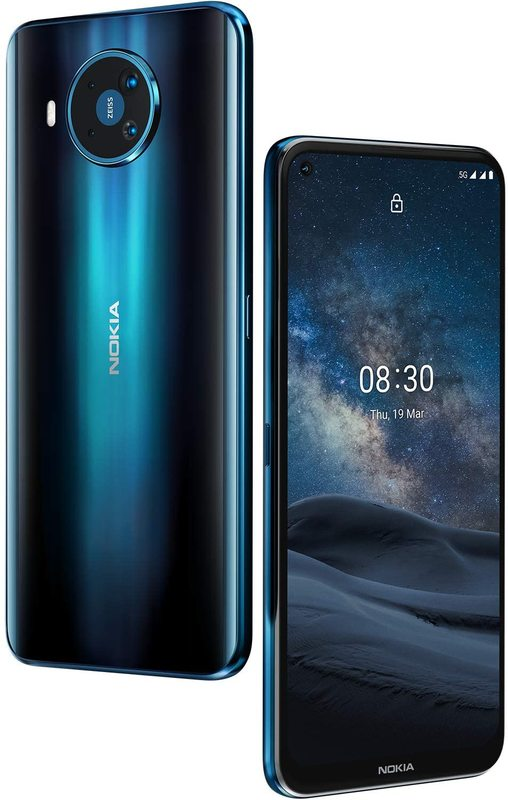 Nokia 8.3 5G Dual (128GB/8GB RAM) - Blue