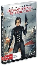 Resident Evil: Retribution on DVD image