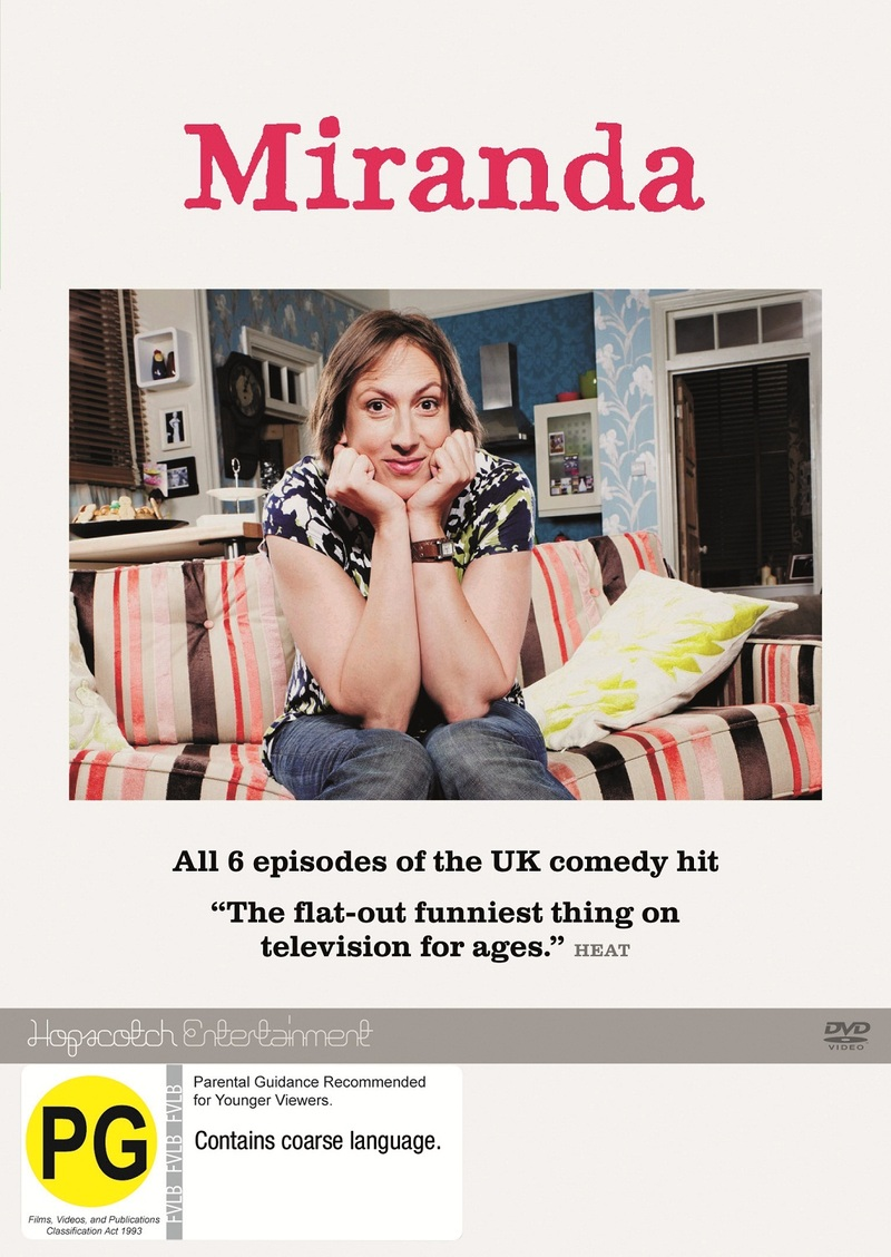 Miranda - Series 1 on DVD image