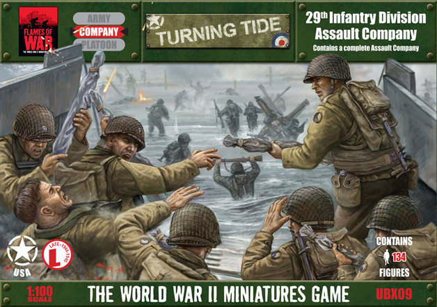 Flames of War - 29th Infantry Division Assault Company