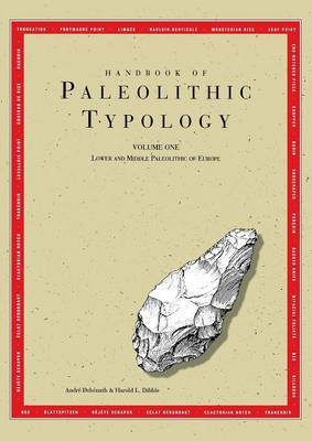 Handbook of Paleolithic Typology by Andr Deb nath