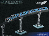 Dropzone Commander: Cityscape - Monorail Scenery Pack