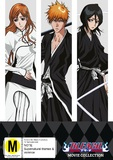 Bleach Movie Collection - Movies 1-4 on DVD