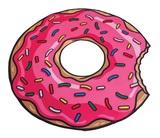 Gigantic Pink Donut - Beach Blanket