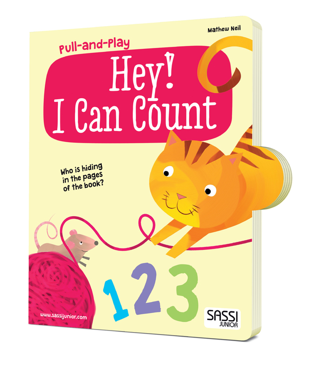 Sassi Pull and Play Book (Hey! I Can Count)