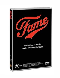 Fame on DVD image