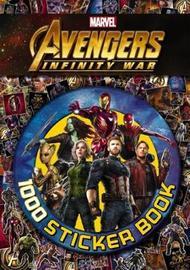 Avengers Infinity War: 1000 Sticker Book