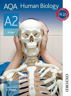 AQA Human Biology A2 Student Book by Pauline Lowrie image