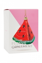 Watermelon Festive Ornament