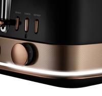 Sunbeam: New York Collection 4 Slice Toaster - Black Bronze image