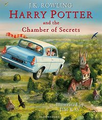 Harry Potter and the Chamber of Secrets: Illustrated Edition by J.K. Rowling image