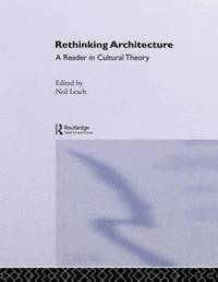 Rethinking Architecture by Neil Leach image