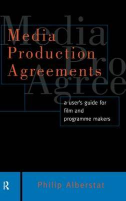 Media Production Agreements by Philip Alberstat image