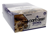 Horleys Carb Less Crunch Bars - Choc Crunchy Nut (12 x 50g Pack)
