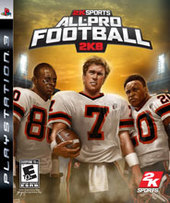 All Pro Football 2K8 for PS3