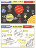 Melissa & Doug: Planets Write-a-Mat