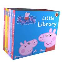 Peppa Pig Little Library Box Set (6 Books)